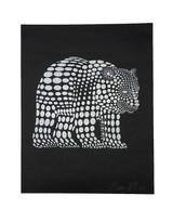 Polka Dot Bear Print