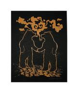 Smokin Bears Print