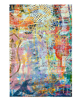 Abstract Screen Multi Print 15