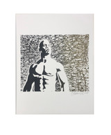 Golden Muscle Print