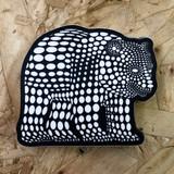 Polka Dot Bear Sticker