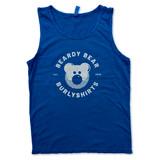Beardy Bear Burlyshirts Ocean Tank