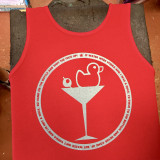 DUCKTINI 17 RED TANK (sale)