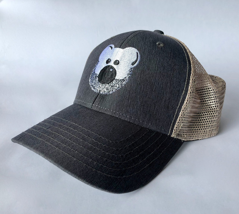Beardy Bear Trucker Cap 1