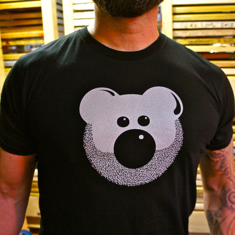 BEARDY BEAR BLACK