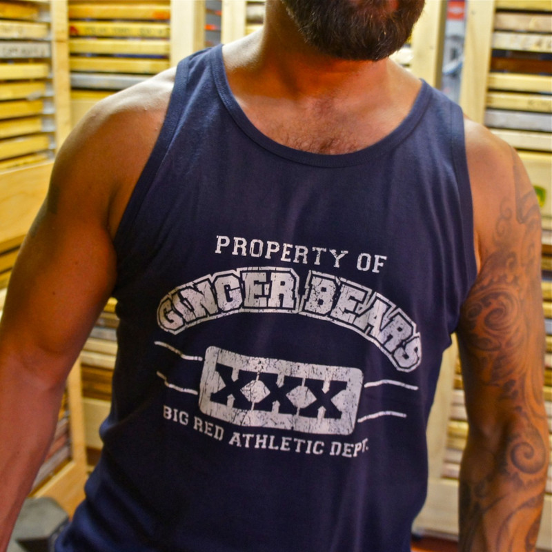 GINGER BEAR ATHLETICS tank (Sale)