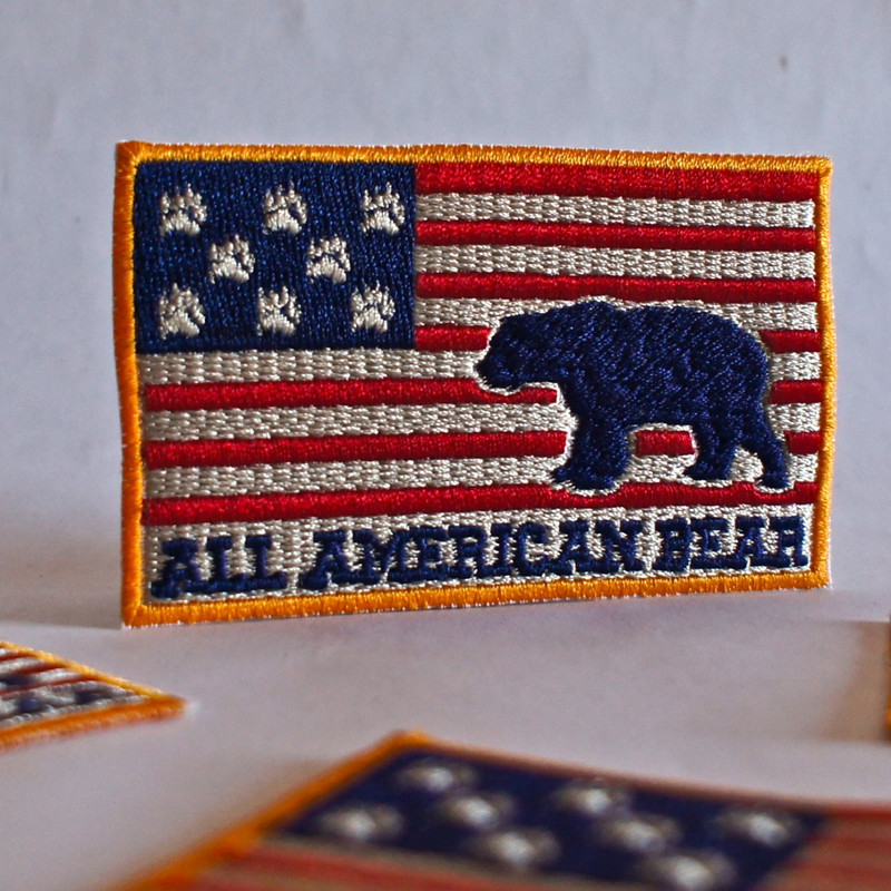 ALL AMERICAN BEAR PATCH