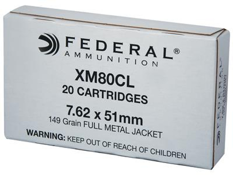 American Eagle 7.62x51mm 149 Grain M80 Ball - 029465064754