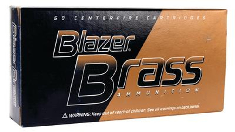 Blazer Brass Ammunition 9mm Luger 124 Grain Full Metal Jacket 50 Per Box - 076683052018