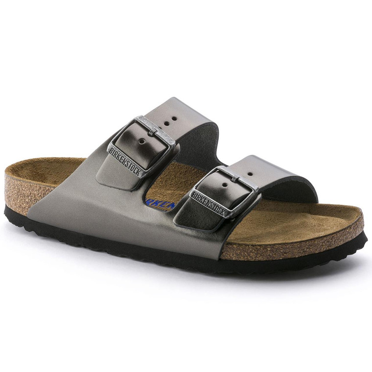 Birkenstock 1000295 SFB Arizona Anthracite - 886925226011