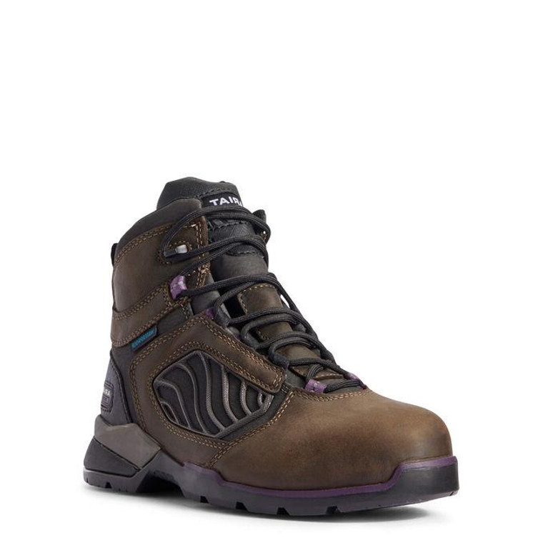 "Ariat 10031420 Rebar Flex Women's CT 6"" Lace Up - 192904226577"