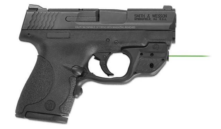 Smith & Wesson 10141 M&P Sheild w/ Crimson Trace Laser - 022188866292