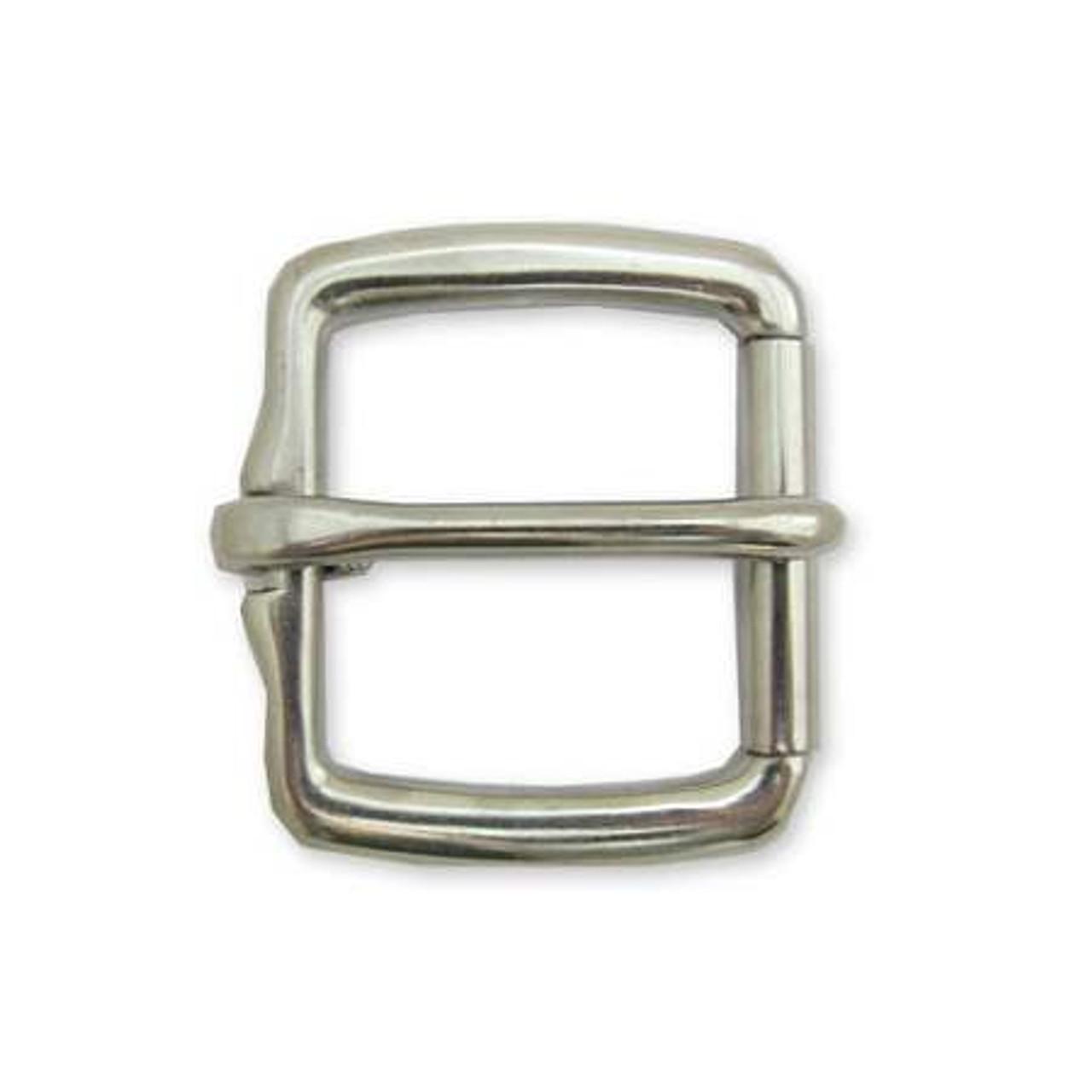 silver belt buckle