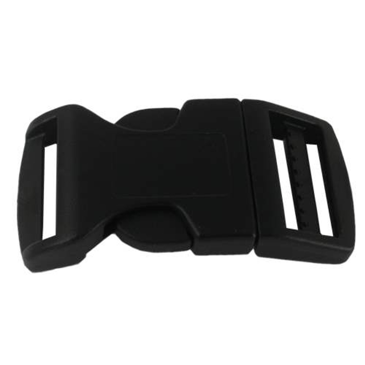 "20-1//2/"" Side Release Contoured Plastic Buckles for Paracord Bracelets Black"