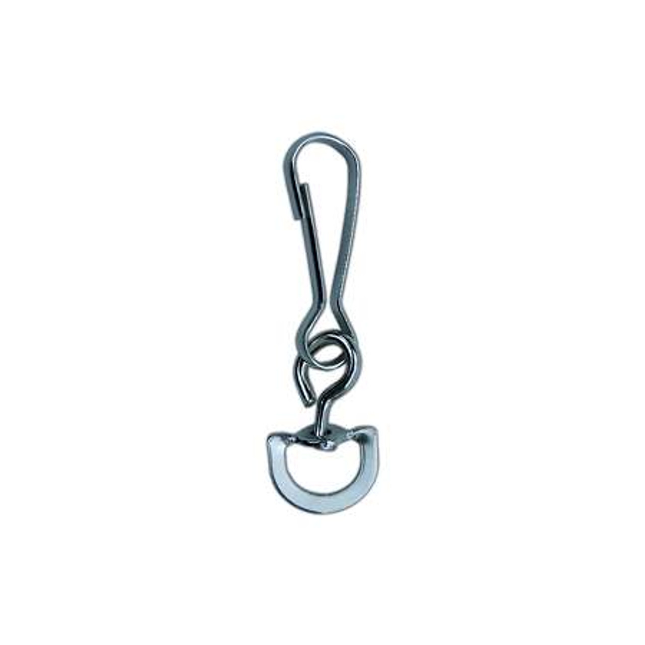 PARACORD PLANET Shark Fin Snap Hooks 360 Degree Swivel Snap Hook with Extended Fin