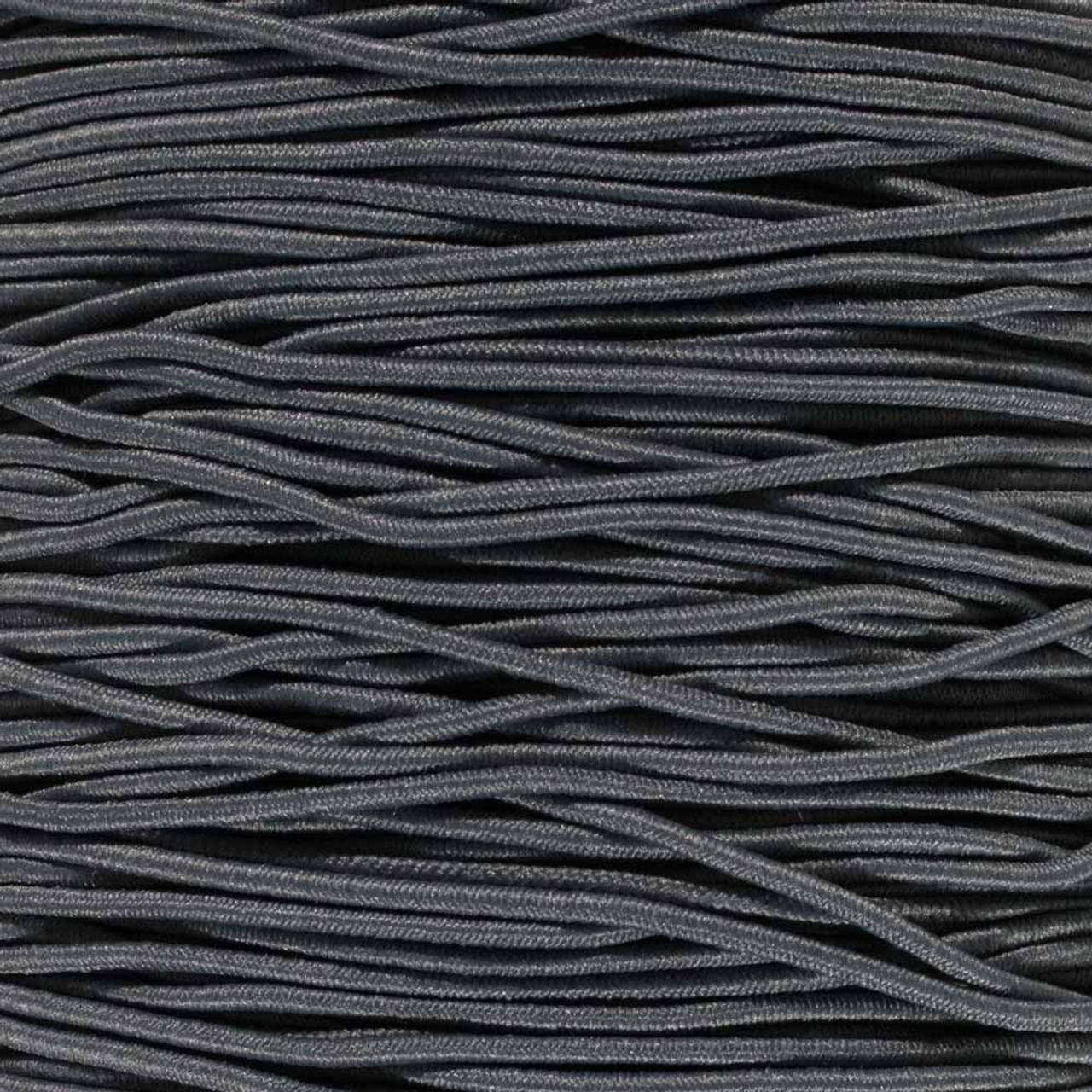 Charcoal Gray 1 16 Inch Elastic Cord Paracord Planet