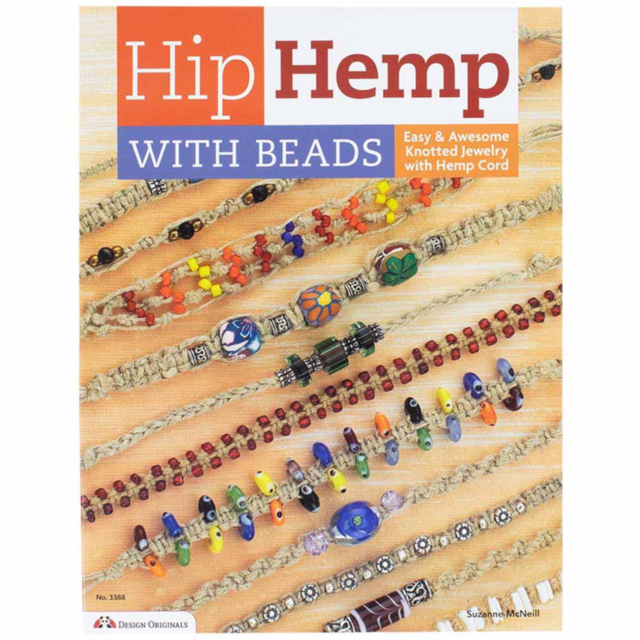 Hip Hemp Beads Knotted Jewelry Hemp Cord Book Paracord Planet