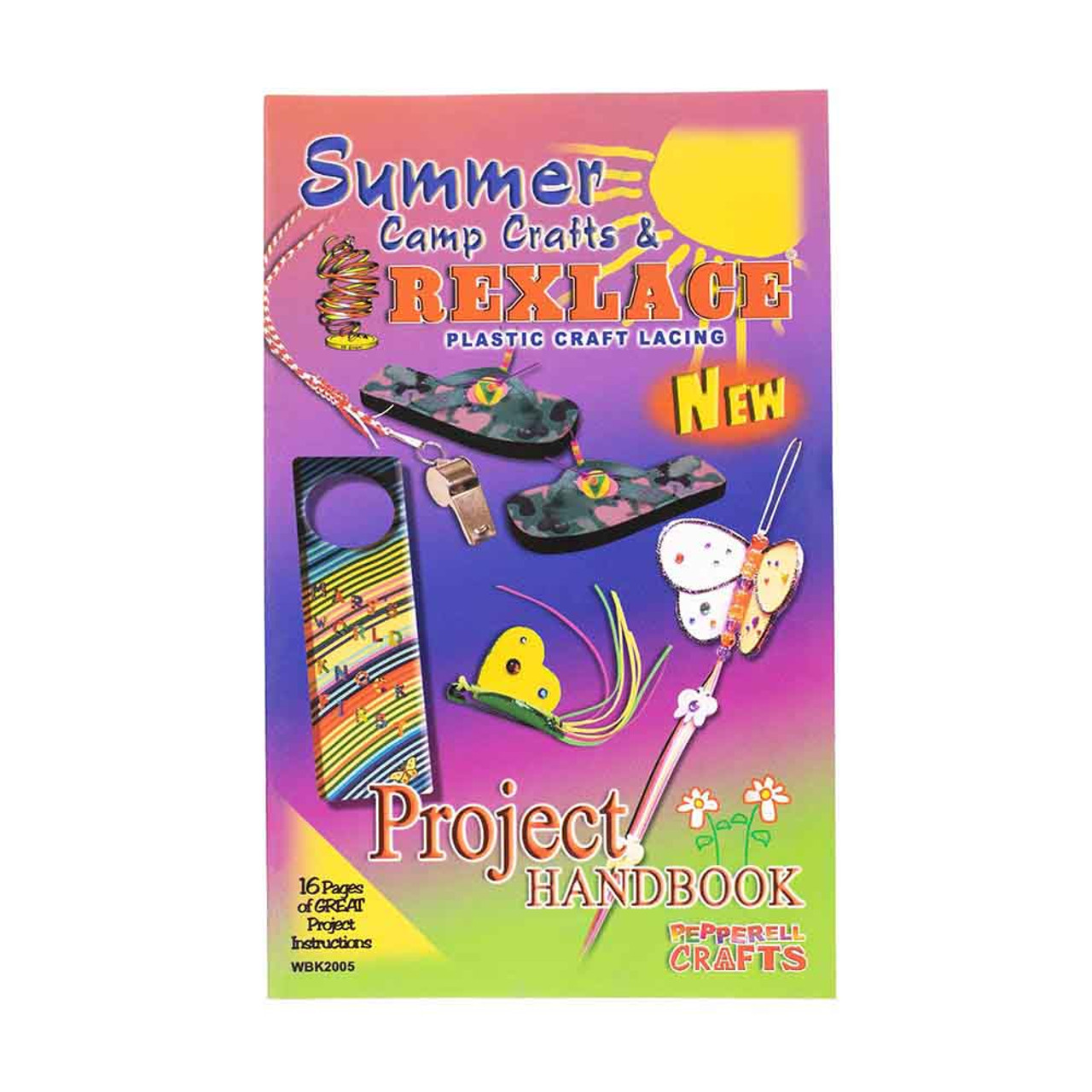 Summer Camp Rexlace Plastic Lacing Book Paracord Planet