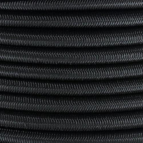 Bungee Cord Golberg Black Diamond Weave Shock Cord 1//4 Inch x 50 Feet