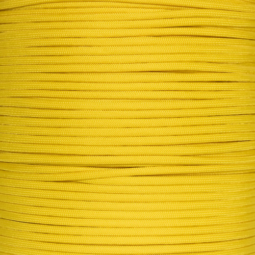 425 Paracord FS Yellow 100 FT USA MADE /& SELLER same day shipping