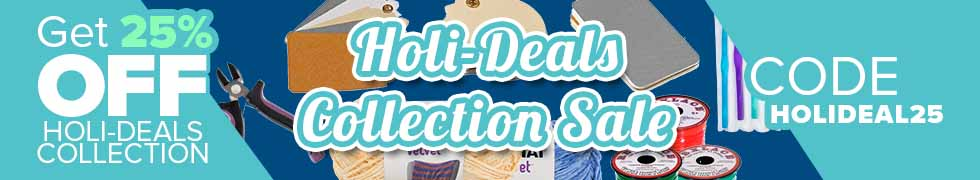 Take 25% off Holi-Deals Collection with code HOLIDEAL25