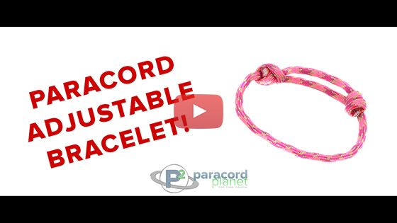 Adjustable Paracord Bracelet Tutorial