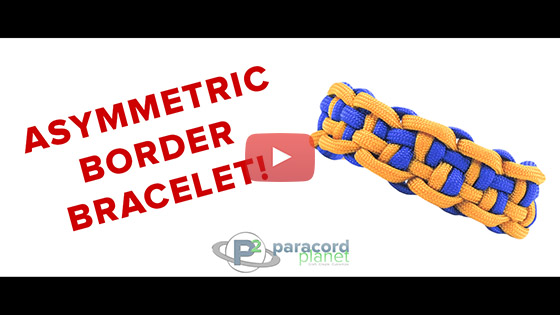 Assymmetric Border Bracelet Tutorial