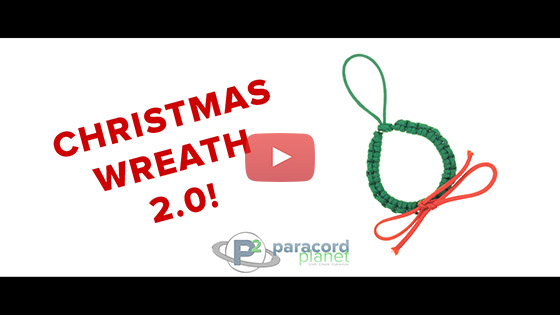 Paracord Christmas Wreath