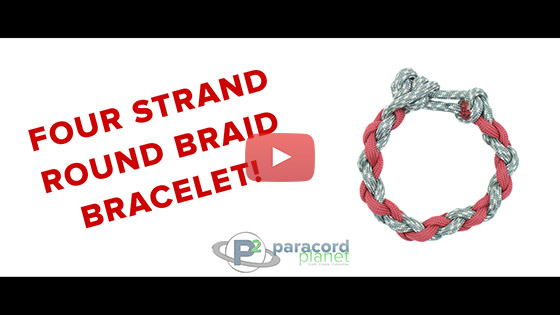 Four Strand Round Braid Tutorial