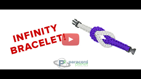 Infinity Paracord Friendship Bracelet