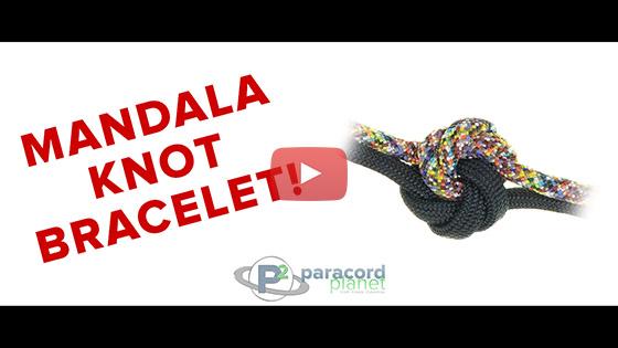 Mandala Knot Paracord Bracelet
