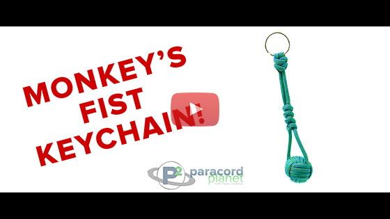 Monkey's Fist Keychain Tutorial