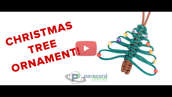 Paracord Christmas Tree Tutorial