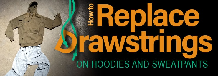3278a6f61da1 How to Replace Drawstrings on Hoodies and Sweatpants - Paracord Planet