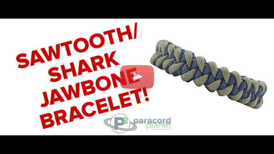 Sharktooth Paracord Bracelet Tutorial