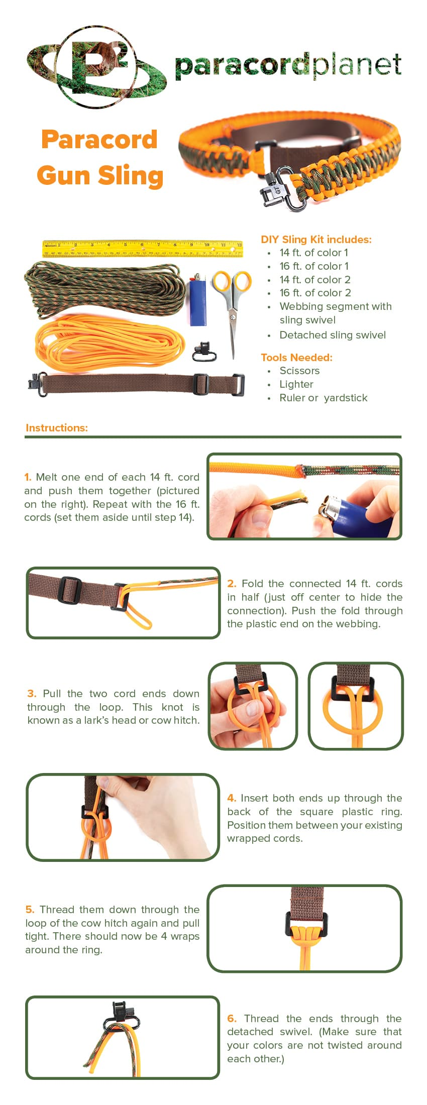 Paracord sling tutorial page 1