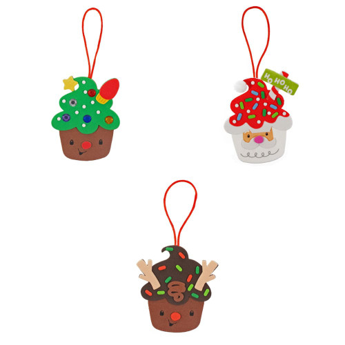Christmas Wreath Cupcakes - Onion Rings & Things