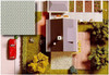 BUSCH 7036 Decor Card (Paving Stones) 2 Sheets 210 x 148mm 00/HO