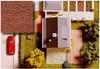 BUSCH 7039 Decor Card (Wooden Boards) 2 Sheets 210 x 148mm 00/HO