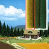 BUSCH 7214 Wild Grass Mat 50cm x 40cm - Corn Field