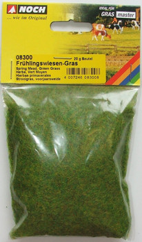 NOCH 08300 Static Grass 2.5mm Spring Meadow 20g