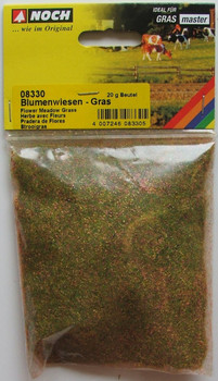 NOCH 08330 Static Grass 2.5mm Meadow Flower 20g