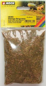 NOCH 08360 Static Grass 2.5mm  Alpine Meadow 20g