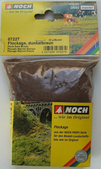 NOCH 07227 Fine Flockage - Dark Brown 20g