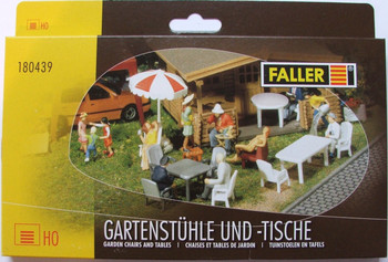 FALLER 180439 Garden Chairs & Tables 00/HO