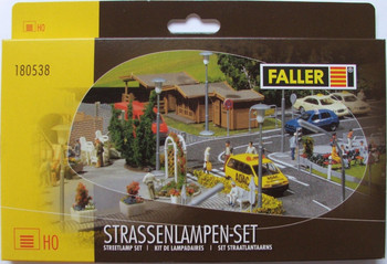 FALLER 180538 Streetlamp Set 00/HO