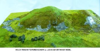 JAVIS - Rough Terrain Scenery Cover 38cm x 16cm - Spring