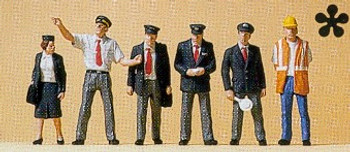 PREISER 10410 British Railway Personnel 00/HO