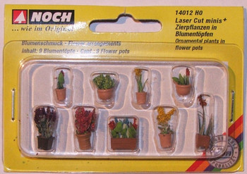NOCH 14012 Ornamental Plants in Pots 00/HO
