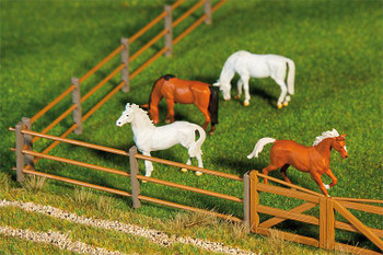 Faller 180435 Barrier Fences 00 Ho Howard Scenic Supplies